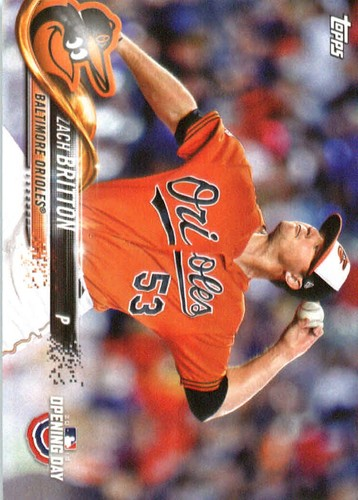 Photo of 2018 Topps Opening Day #145 Zach Britton