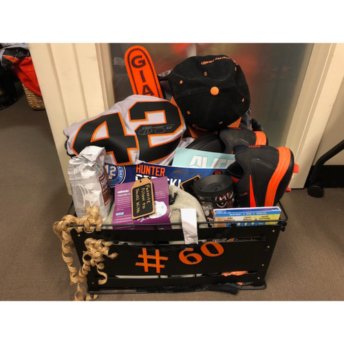 "Photo of Giants Wives Auction: Hunter Strickland ""Favorite Things"" Basket"