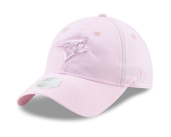 Toronto Blue Jays Women's Crisp Pick Pink Adjustable Cap by New Era