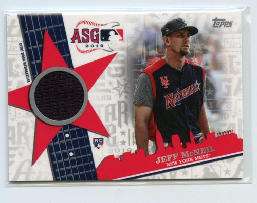 Photo of 2019 Topps Update All Star Stitches #ASSRJEM Jeff McNeil