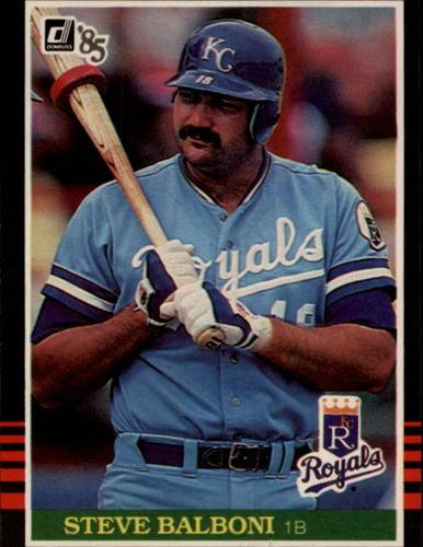 Photo of 1985 Donruss #419 Steve Balboni