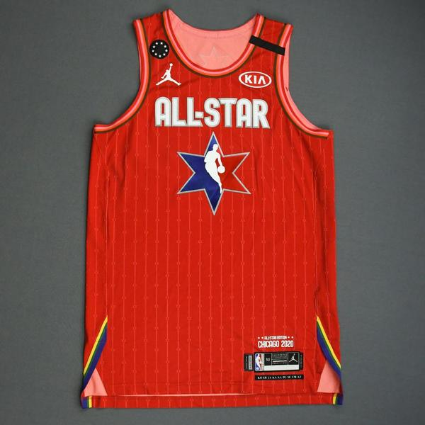 Image of Donovan Mitchell - 2020 NBA All-Star - Game-Worn Jersey Charity Auction - Team Giannis - 1st and 2nd Quarter