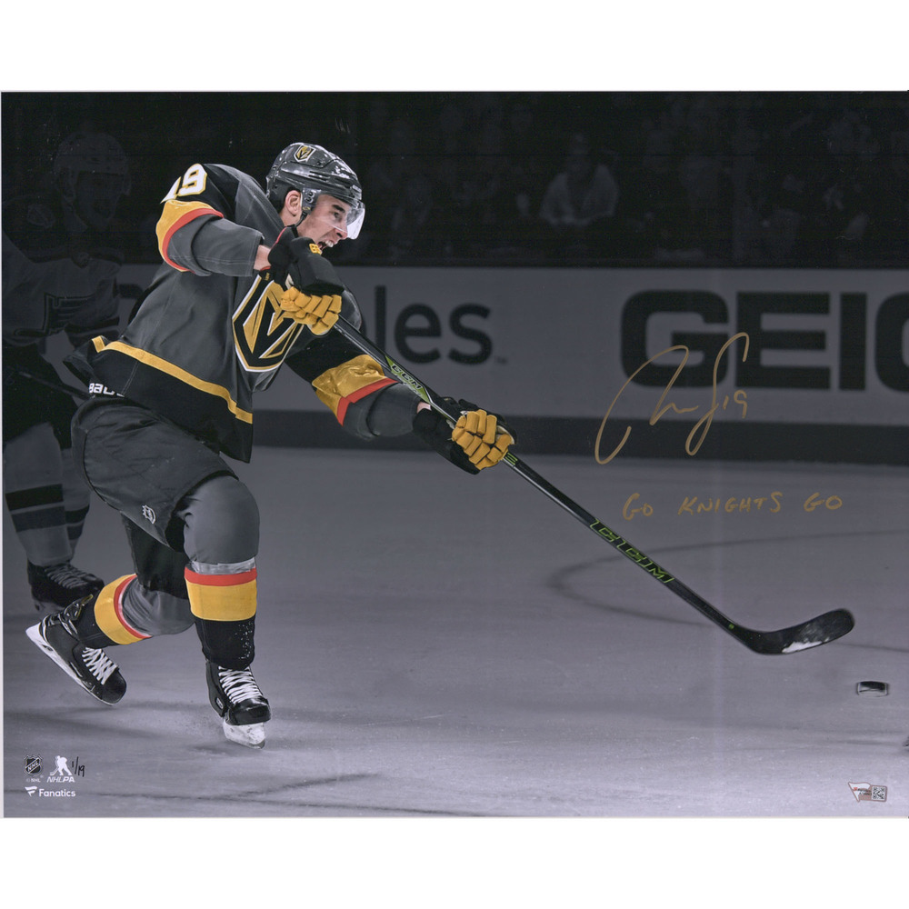 Reilly Smith Vegas Golden Knights Autographed 16