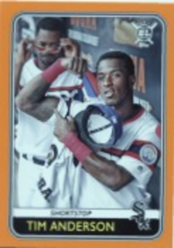Photo of 2020 Topps Big League Orange #211 Tim Anderson