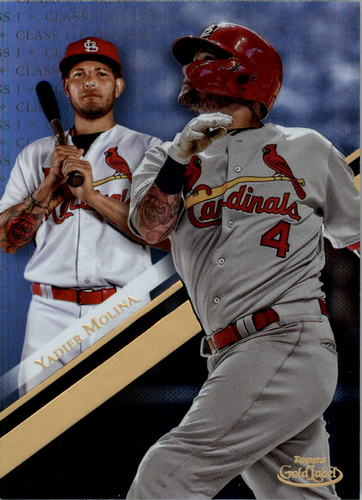 Photo of 2019 Topps Gold Label Class 1 #58 Yadier Molina