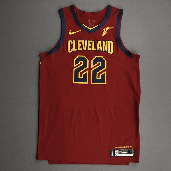 Image of Larry Nance Jr. - Cleveland Cavaliers - Kia NBA Tip-Off 2020 - Game-Worn Icon Edition Jersey - Double-Double