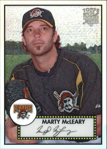 Photo of 2006 Topps 52 Chrome Refractors #68 Marty McLeary