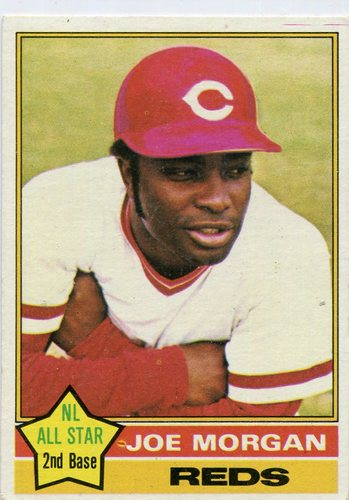 Photo of 1976 Topps #420 Joe Morgan -- Hall of Famer