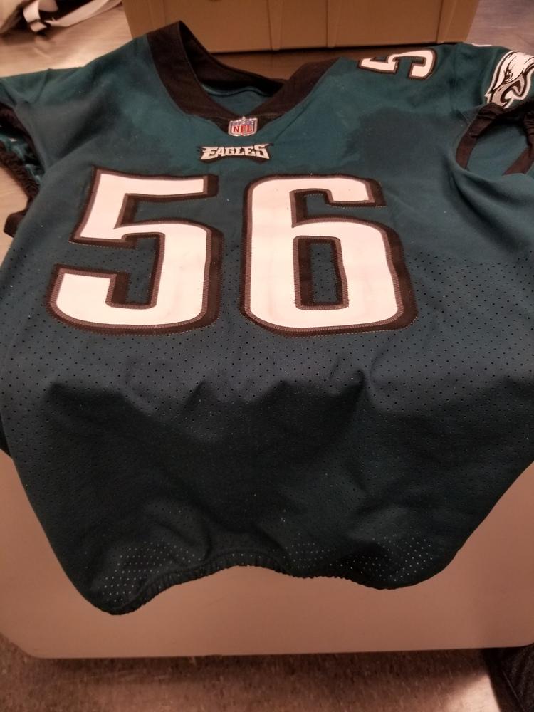 NFL Auction | CRUCIAL CATCH - PHILADELPHIA EAGLES CHRIS LONG GAME ...