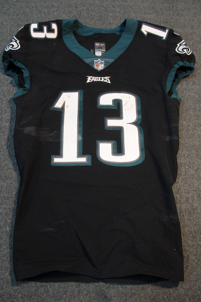 NFL Auction | STS - Eagles Nelson Agholor game worn Eagles jersey ...