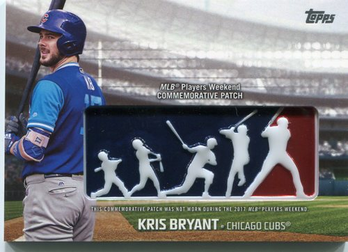 Photo of 2018 Topps Players Weekend Patches #PWPKB Kris Bryant