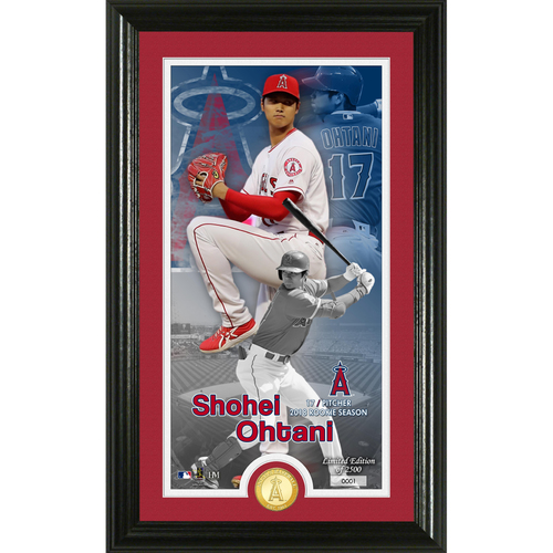 Photo of Shohei Ohtani Supreme Bronze Coin Photo Mint