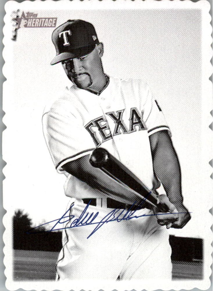 2018 Topps Heritage High Number '69 Topps Deckle Edge #21 Adrian Beltre