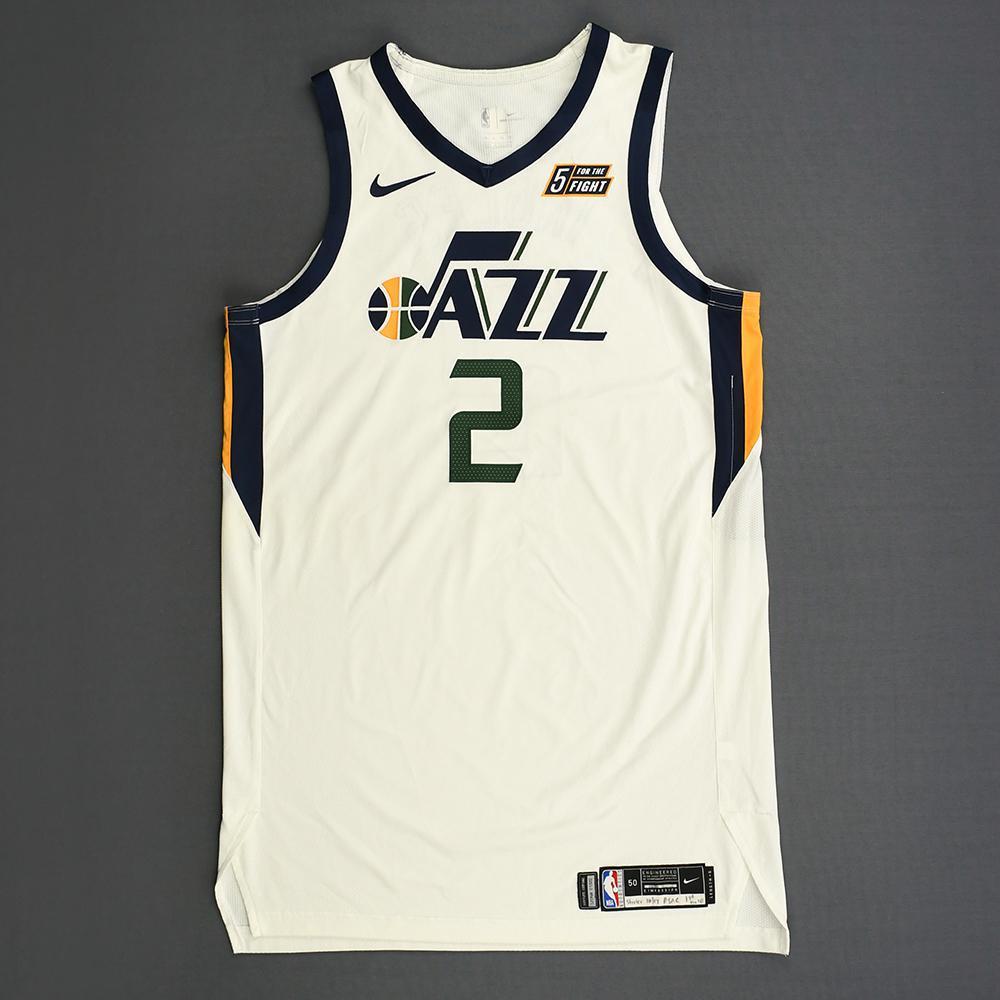 brand new 1a86d d59eb Joe Ingles - Utah Jazz - Kia NBA Tip-Off 2018 - Game-Worn ...