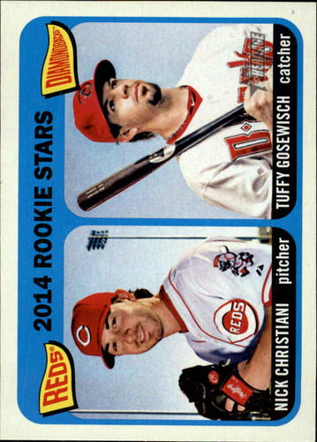 Photo of 2014 Topps Heritage #181 Tuffy Gosewisch RC/Nick Christiani RC