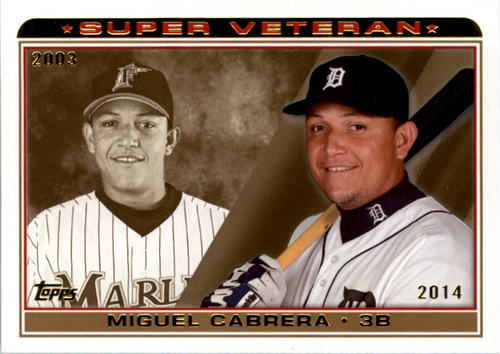 Photo of 2014 Topps Super Veteran #SV2 Miguel Cabrera