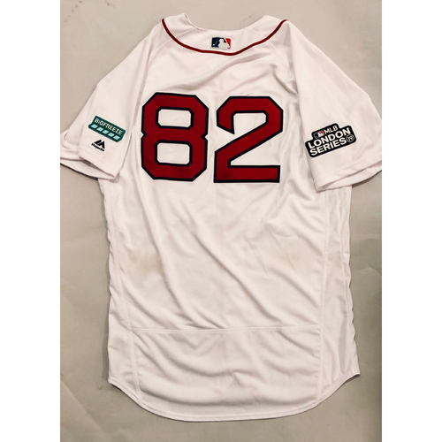 2019 London Series - Game-Used Jersey - Tom Goodwin, New York Yankees vs Boston Red Sox - 6/29/19