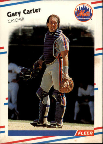 Photo of 1988 Fleer #130 Gary Carter