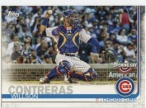 Photo of 2019 Topps Opening Day #49 Willson Contreras
