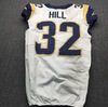 Crucial Catch - Rams Troy Hill Game Used Jersey  (October 7th