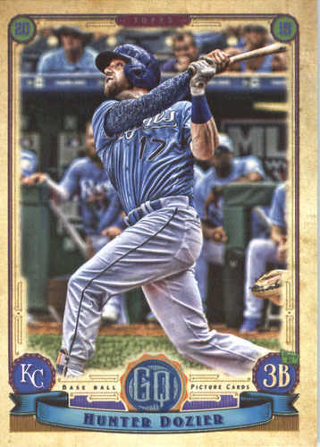 Photo of 2019 Topps Gypsy Queen #254 Hunter Dozier