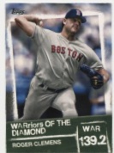 Photo of 2020 Topps Warriors of the Diamond #WOD5 Roger Clemens