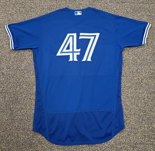Photo of Authenticated Team Issued 2020 Spring Training Jersey: #47 Anthony Kay. Size 46
