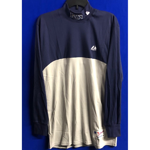Photo of Rays Baseball Foundation: Team Issued Turtle Neck Long Sleeve - Choose Your Size!