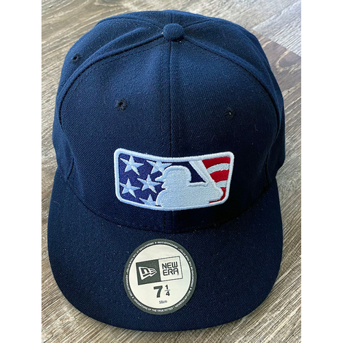 Photo of UMPS CARE AUCTION: Official Specialty MLB Stars and Stripes Base Cap, Size 7 1/4