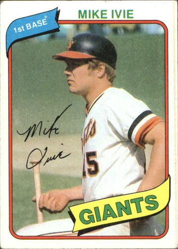 Photo of 1980 Topps #62 Mike Ivie