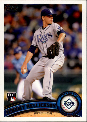 Photo of 2011 Topps #165 Jeremy Hellickson RC