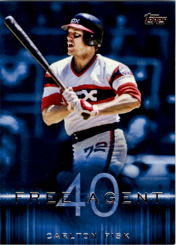 Photo of 2015 Topps Free Agent 40 #F4012 Carlton Fisk