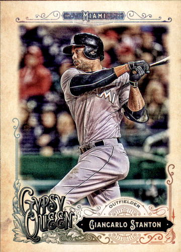 Photo of 2017 Topps Gypsy Queen #108 Giancarlo Stanton
