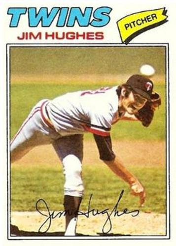 Photo of 1977 Topps #304 Jim Hughes