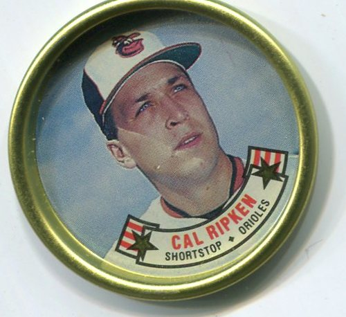 Photo of 1988 Topps Coins #24 Cal Ripken