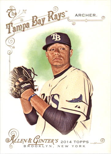 Photo of 2014 Topps Allen and Ginter #179 Chris Archer