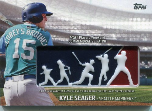 Photo of 2018 Topps Players Weekend Patches #PWPKS Kyle Seager