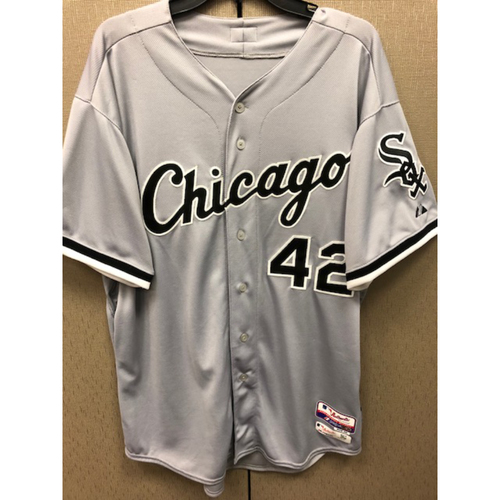 Photo of Avisail Garcia Game-Used 2015 Grey Jersey