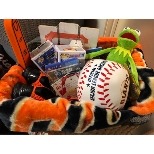 "Photo of Giants Wives Auction: Derek Holland ""Favorite Things"" Basket"
