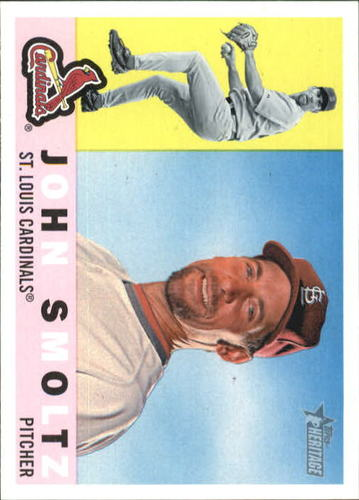 Photo of 2009 Topps Heritage #507 John Smoltz -- Hall of Fame Class of 2015