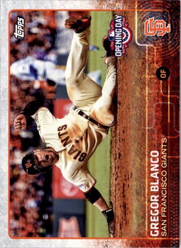 Photo of 2015 Topps Opening Day #138 Gregor Blanco