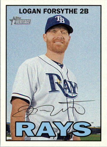 Photo of 2016 Topps Heritage #2 Logan Forsythe