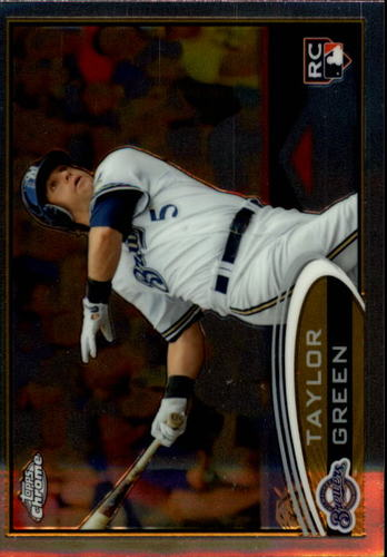 Photo of 2012 Topps Chrome #179 Taylor Green RC
