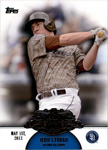 Photo of 2013 Topps Making Their Mark #MM44 Jedd Gyorko