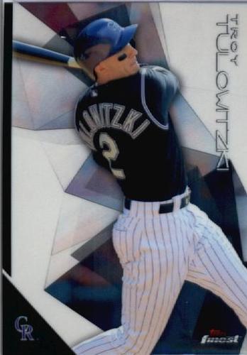 Photo of 2015 Finest #17 Troy Tulowitzki