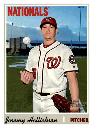 Photo of 2019 Topps Heritage #619 Jeremy Hellickson