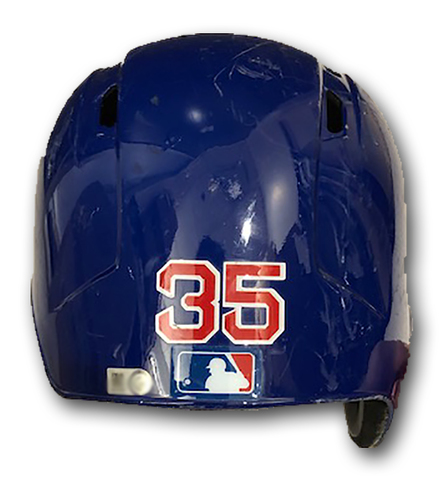 Photo of Cole Hamels Team-Issued Batting Helmet -- 2019 Season -- Size 7 1/4