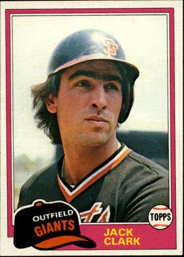 Photo of 1981 Topps #30 Jack Clark