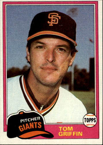 Photo of 1981 Topps #538 Tom Griffin