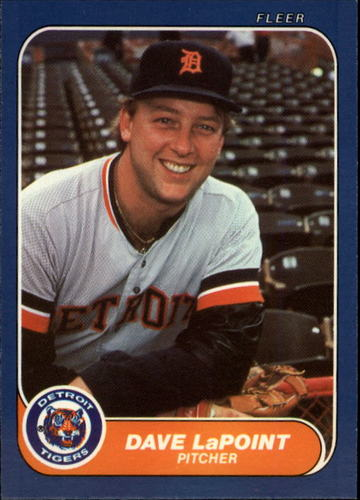 Photo of 1986 Fleer Update #64 Dave LaPoint